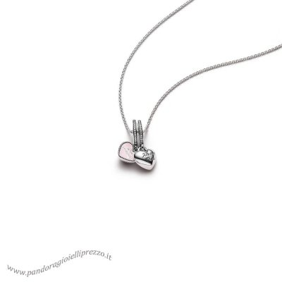 Pandora Saldi Best Friends Pendant And Necklace Promozioni